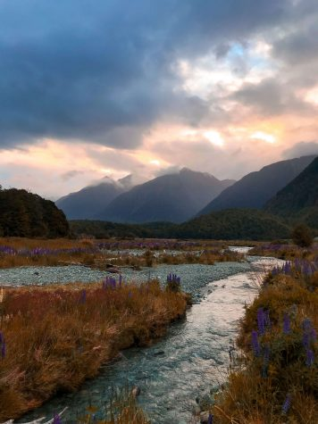 Fiordlandin kansallispuisto.