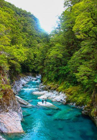 blue pools, Uusi-Seelanti