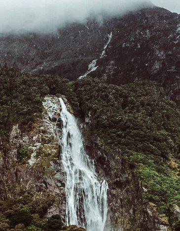 Milford Sound -vesiputous.
