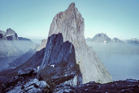 Segla-vuori Senjan saarella.