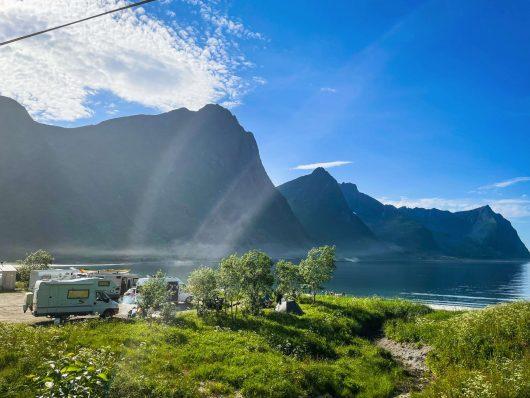 Steinfjordin vuononranta, Senja.