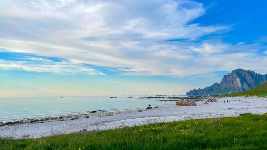 Bleikin rantamaisemaa Norjassa.