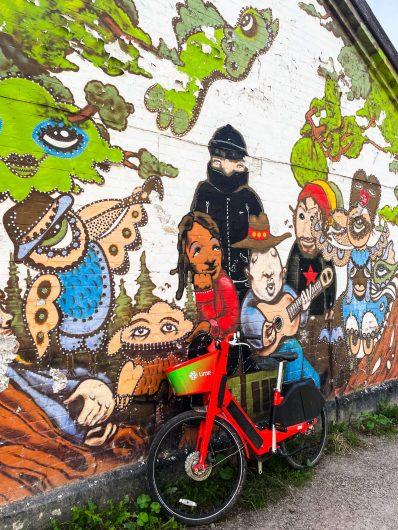 Christianian seinämaalauksia.